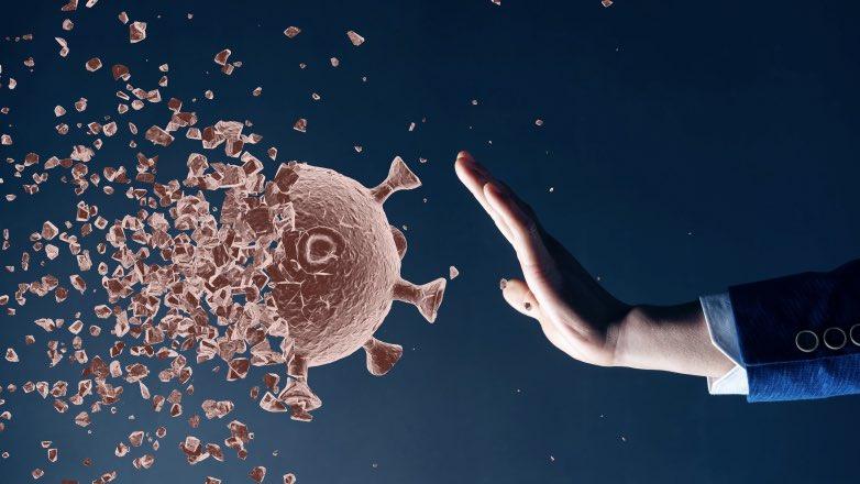 иммунитет от коронавируса рука