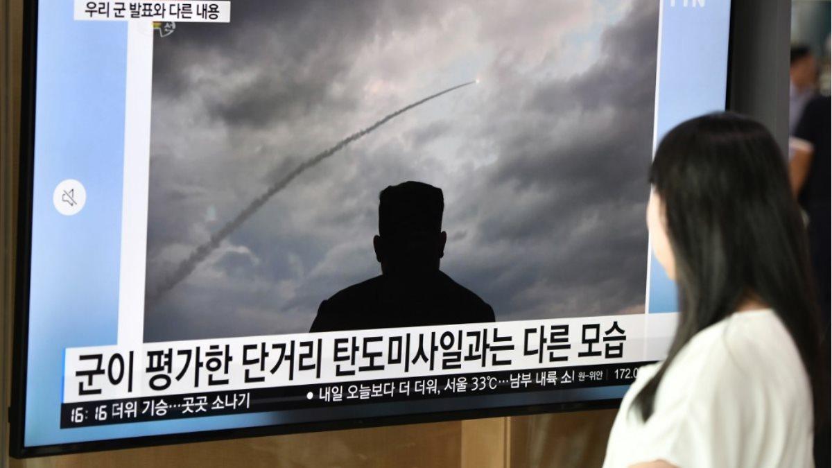 КНДР Северная Корея Ким Чен Ын запуск ракеты испытания