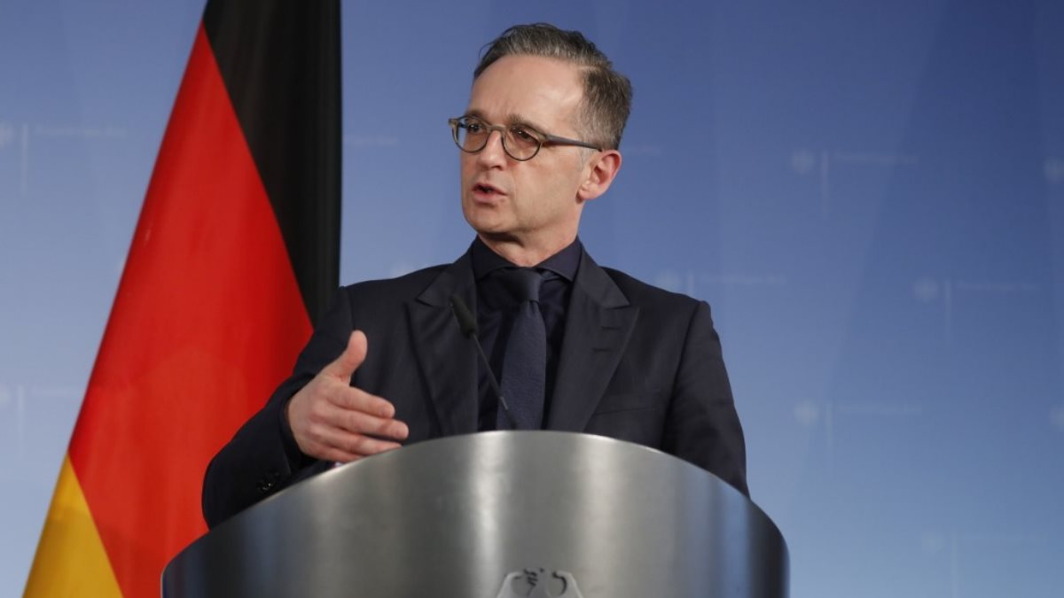Министр иностранных дел Германии Хейко Маас - Heiko Maas