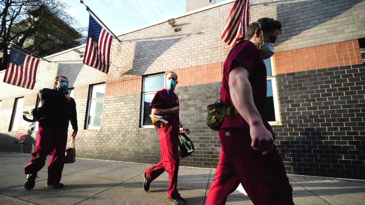 США врачи коронавирус