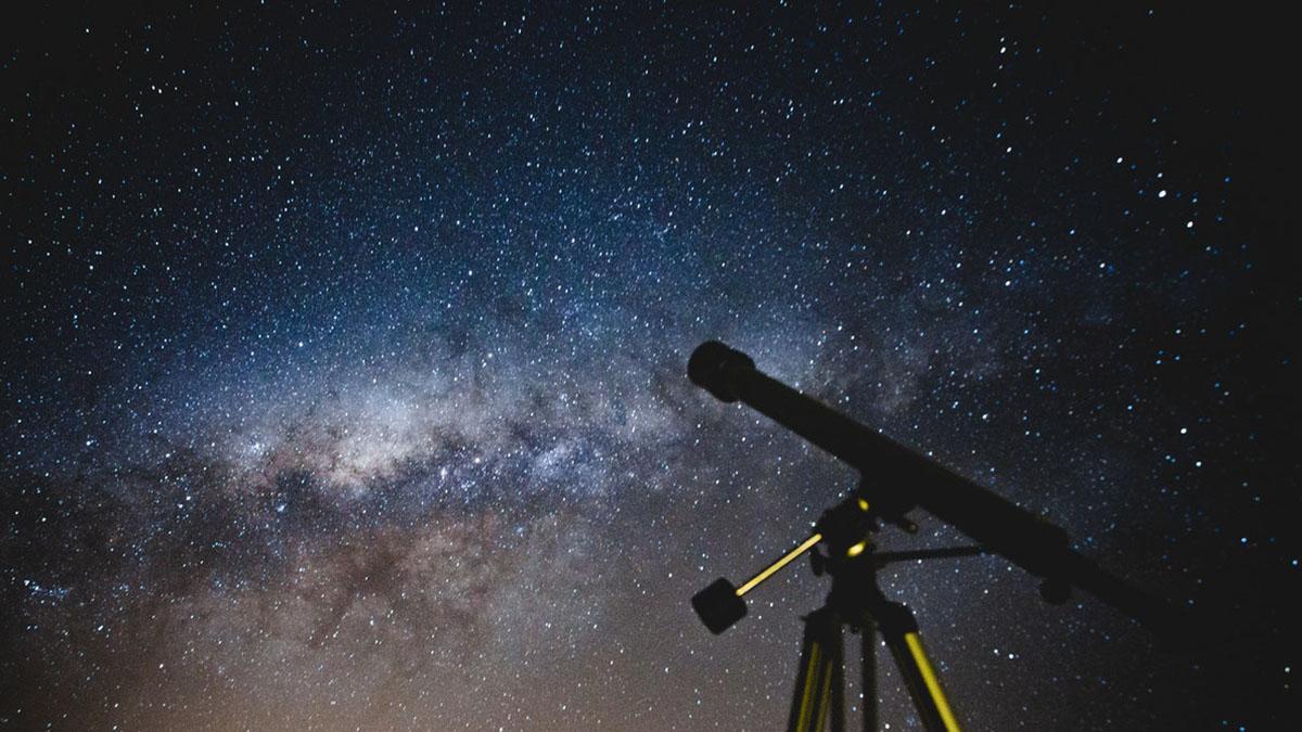 Телескоп Астрономия Звёздное небо Ночь