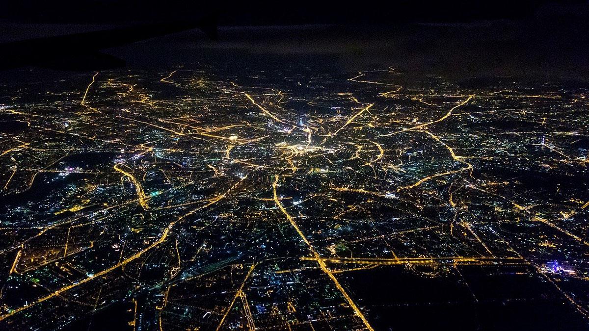 Москва Аэросъёмка