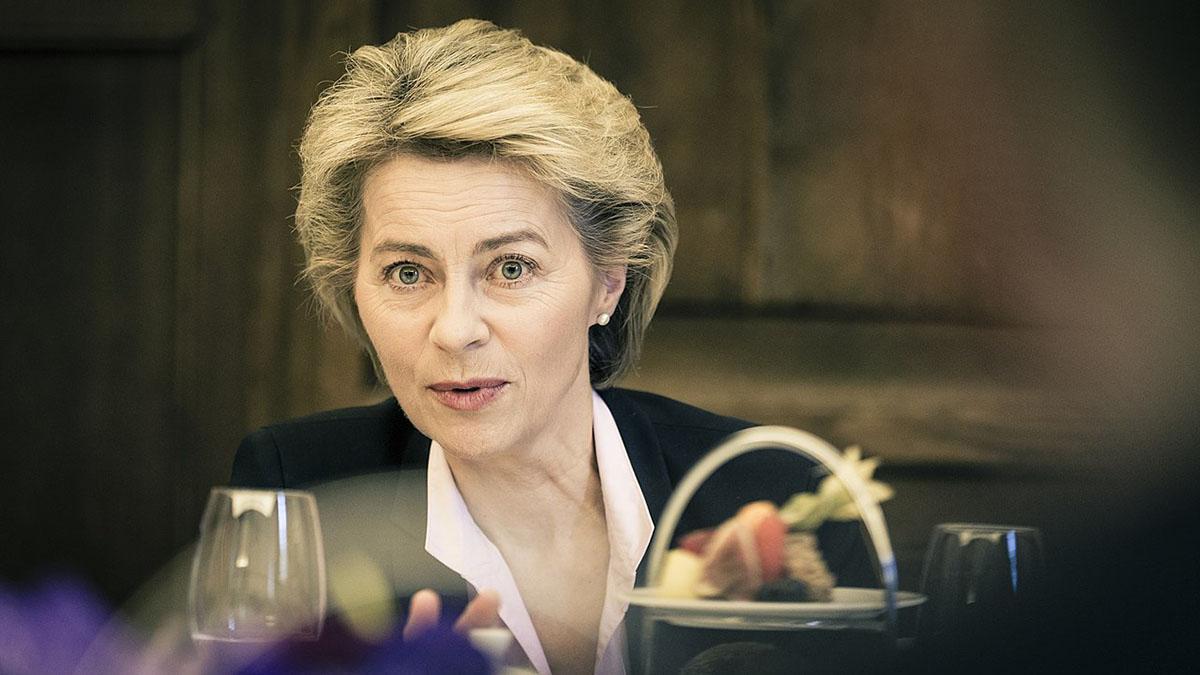 Урсула фон дер Ляйен Председатель Европейской комиссии