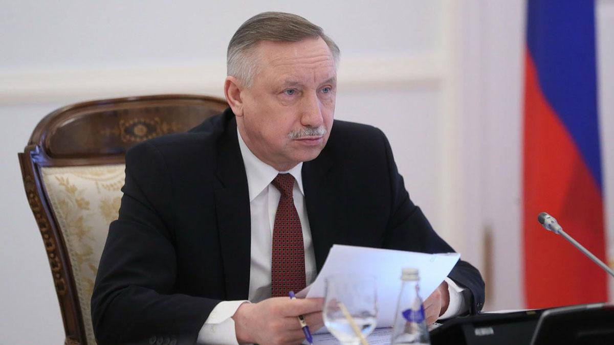 Губернатор Санкт-Петербурга Александр Беглов два