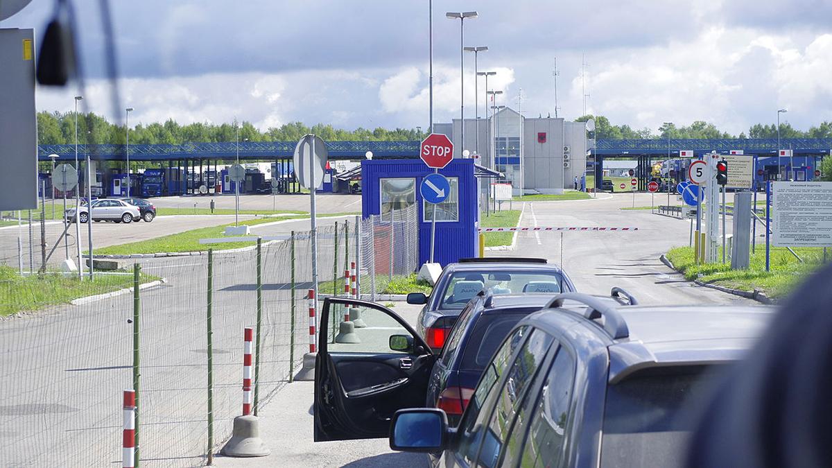 КПП на российско-латвийской границе