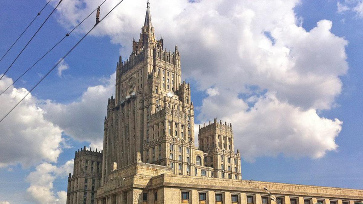 Министерство иностранных дел РФ (МИД РФ) Смоленская-Сенная площадь корпус для подследственных при Рукавишниковском приюте