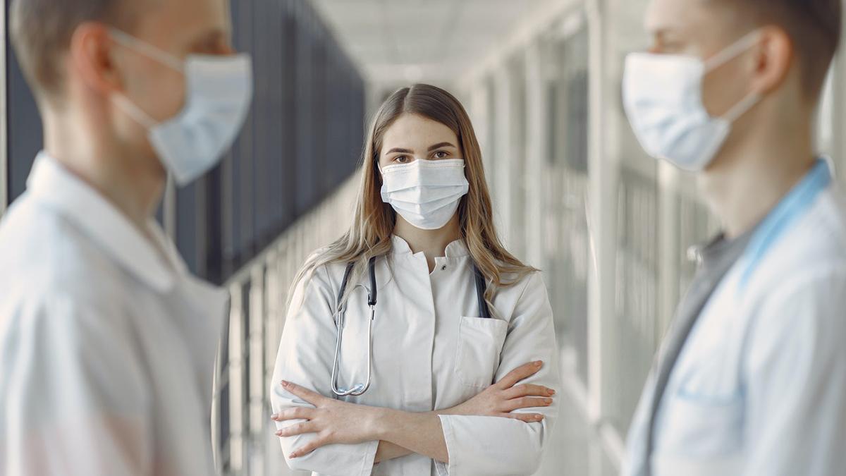 Доктора Врачи Маски Больница