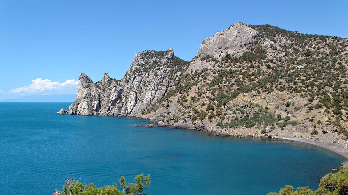Крым Скалы Море