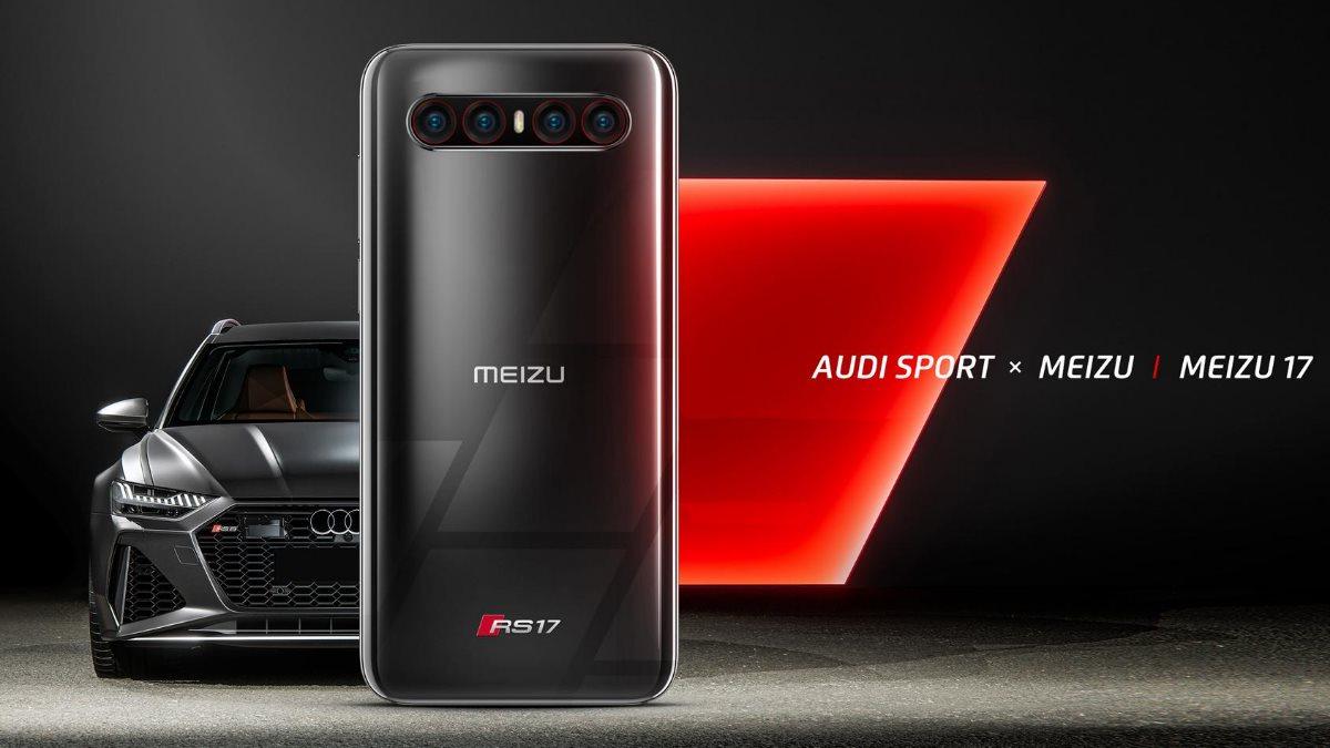 Audi и Meizu 17