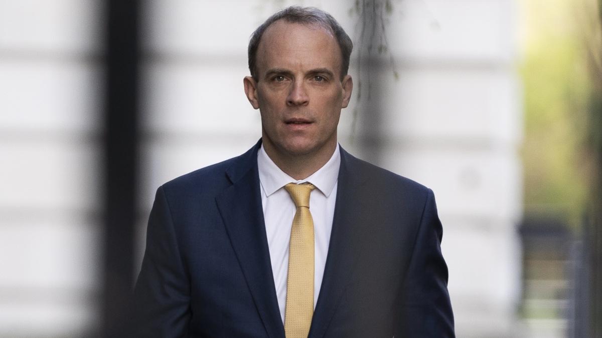 Доминик Рааб, министр иностранных дел Великобритании