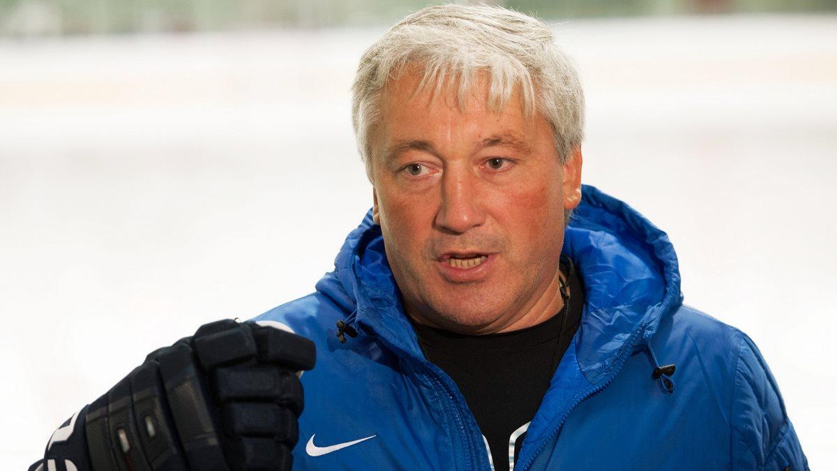 Хоккейный тренер Михаил Кравец