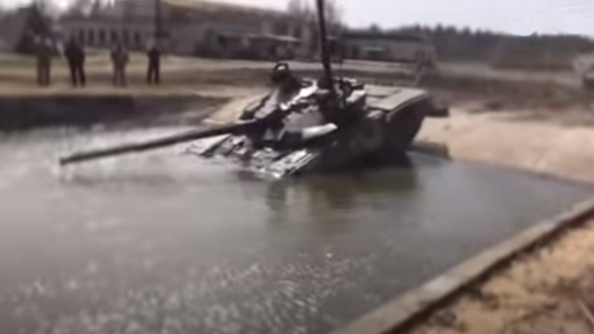 Украина Модернизированный танк Т-72 АМТ
