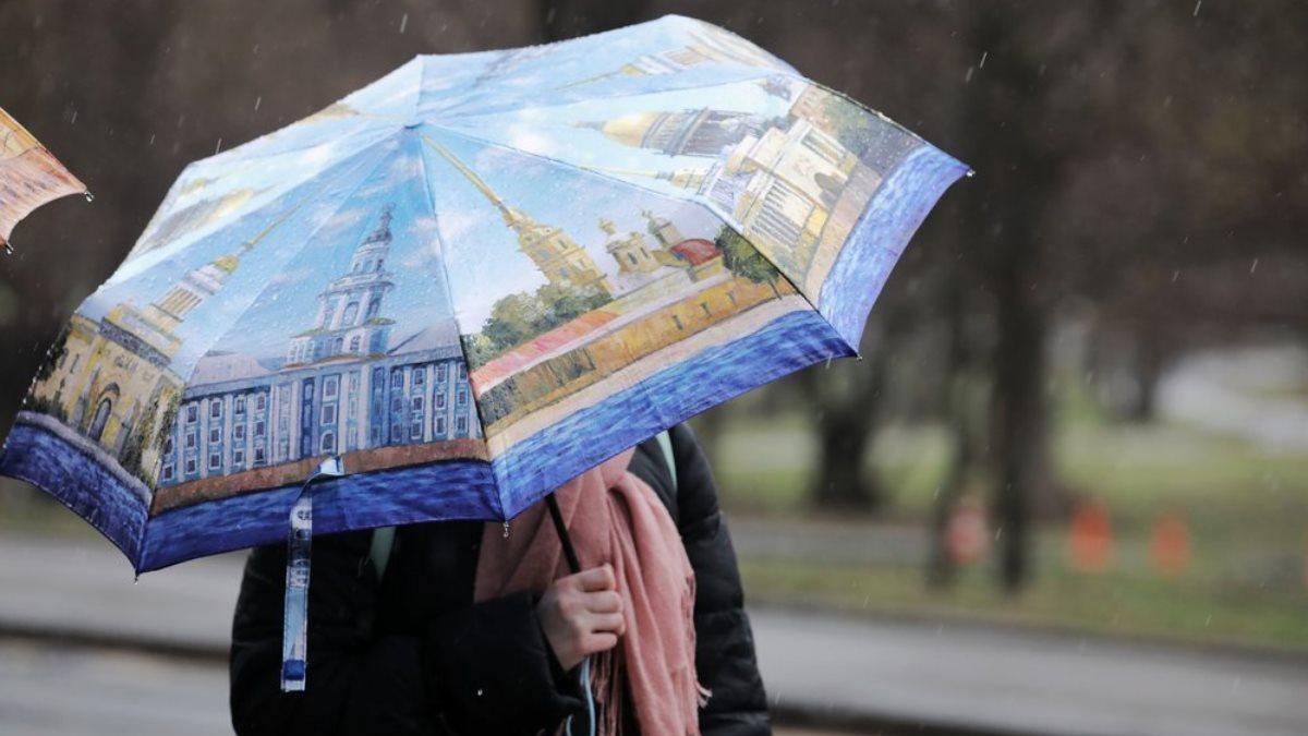 Погода пасмурная дождь зонтик