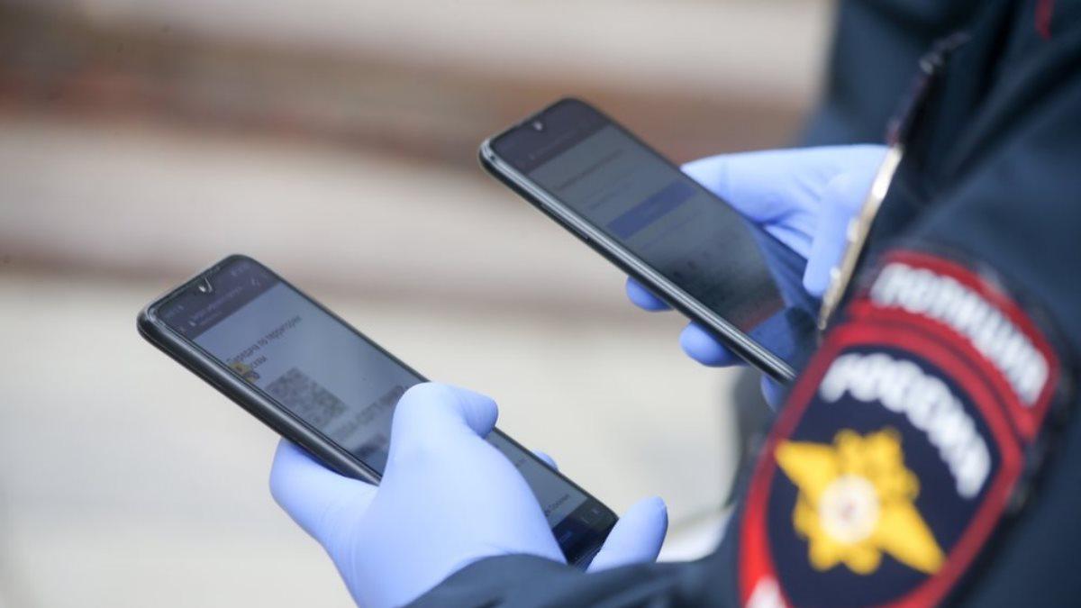 Россия Полиция коронавирус карантин проверка цифровой пропуск