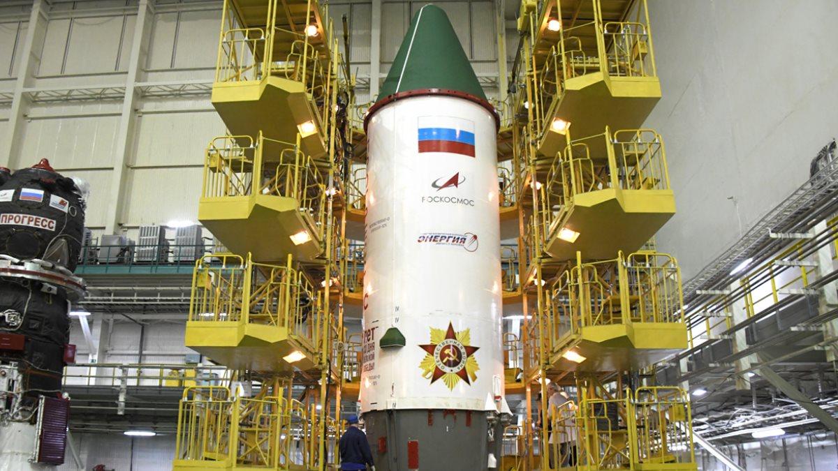 Прогресс МС-14 - Ракета Победы которая 25 апреля отправится к МКС
