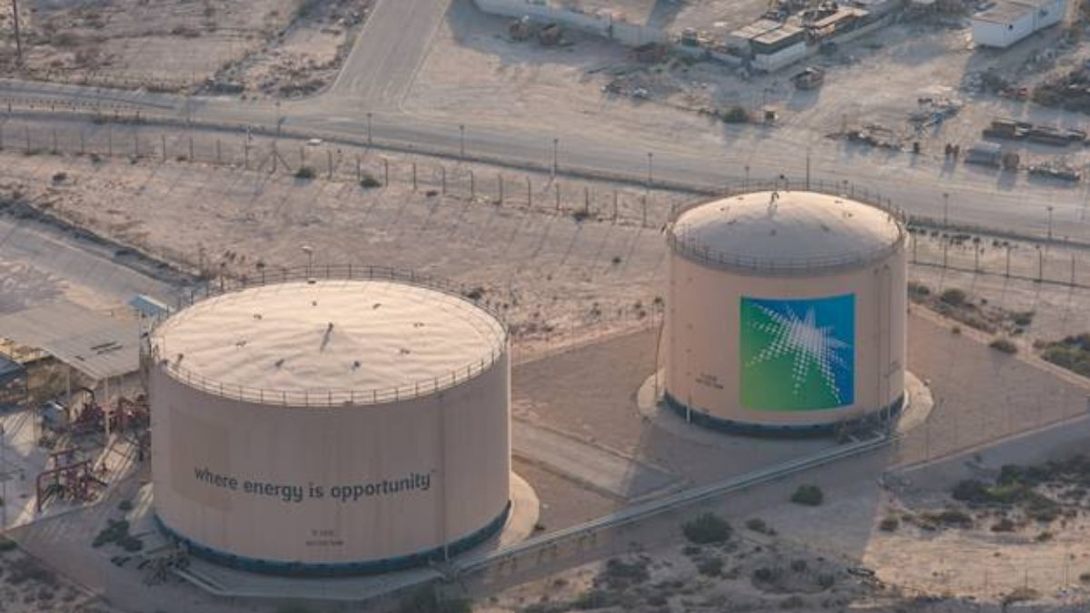 Saudi Aramco нефть логотип