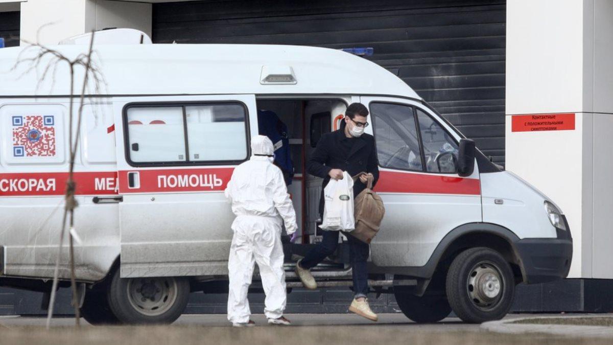 Россия скорая помощь Коммунарка коронавирус пациент два