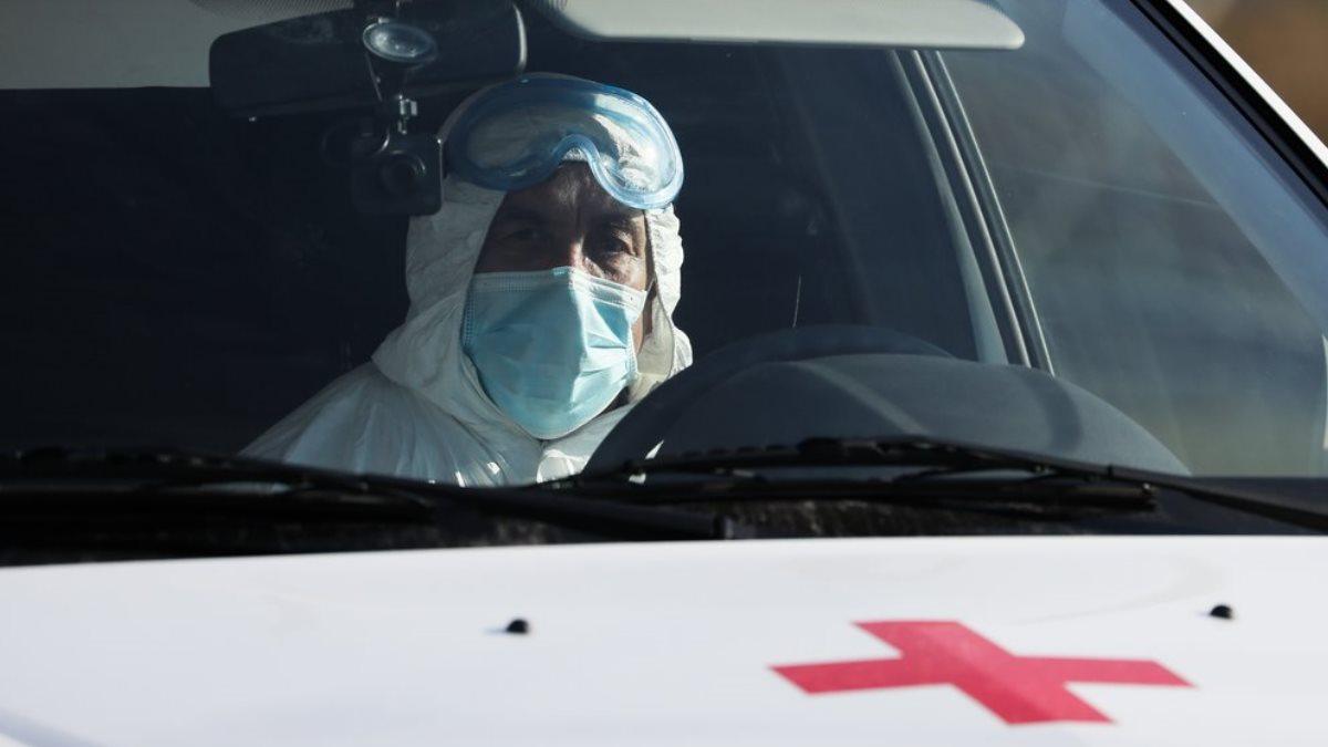 Россия коронавирус Скорая помощь водитель