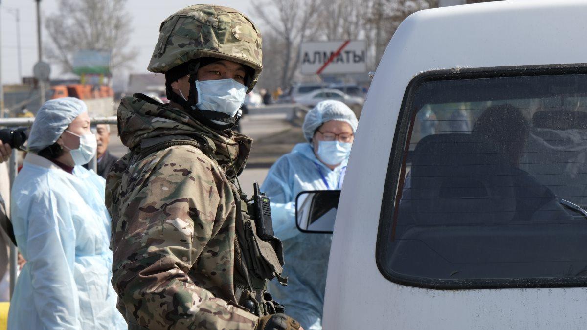 Коронавирус Казахстан карантин