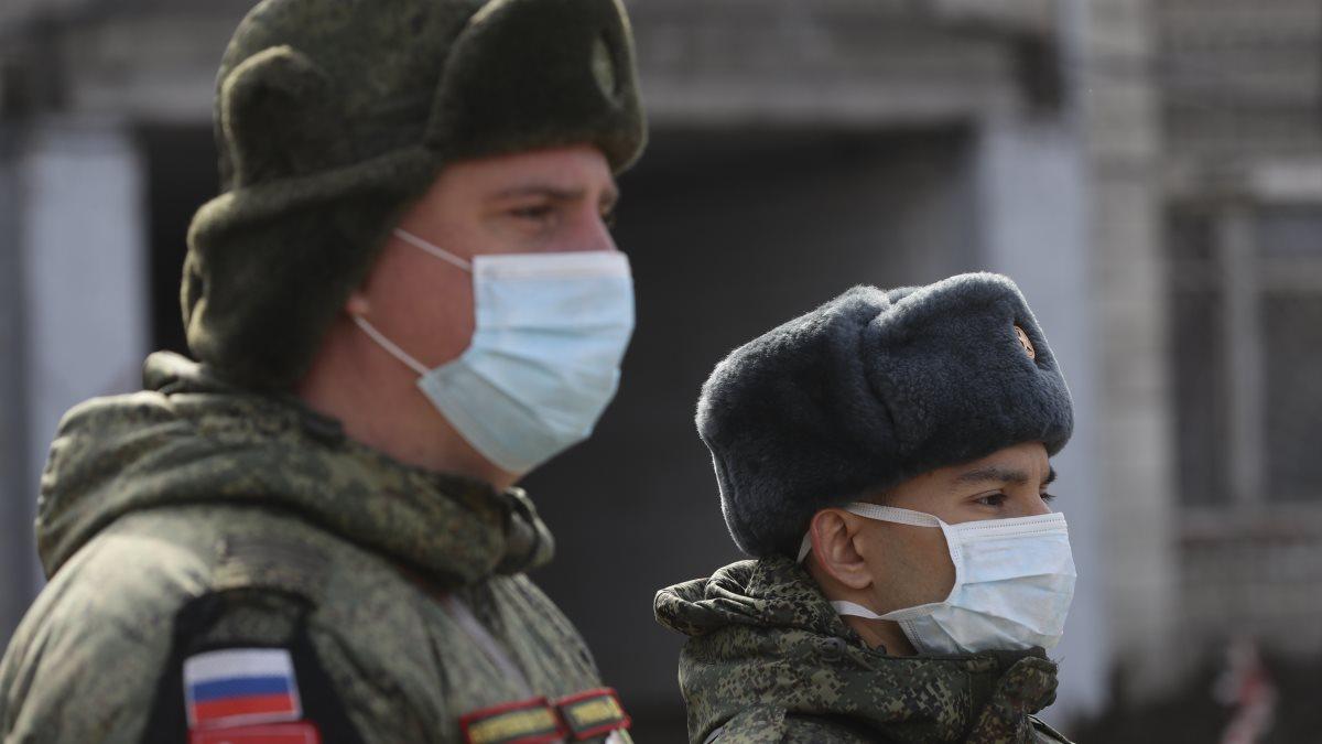 Россия армия солдаты коронавирус