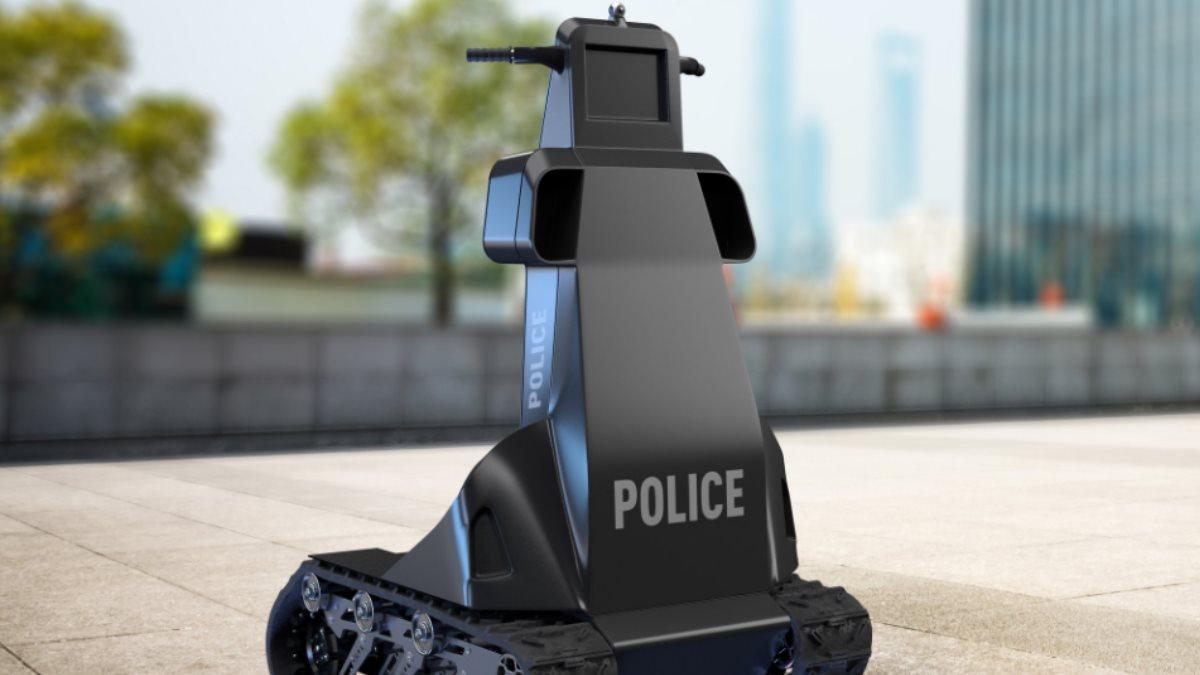 Украинский робот-полицейский на основе роботизированной платформы Скорпион