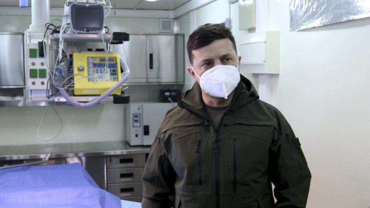 Владимир Зеленский коронавирус медицинское оборудование