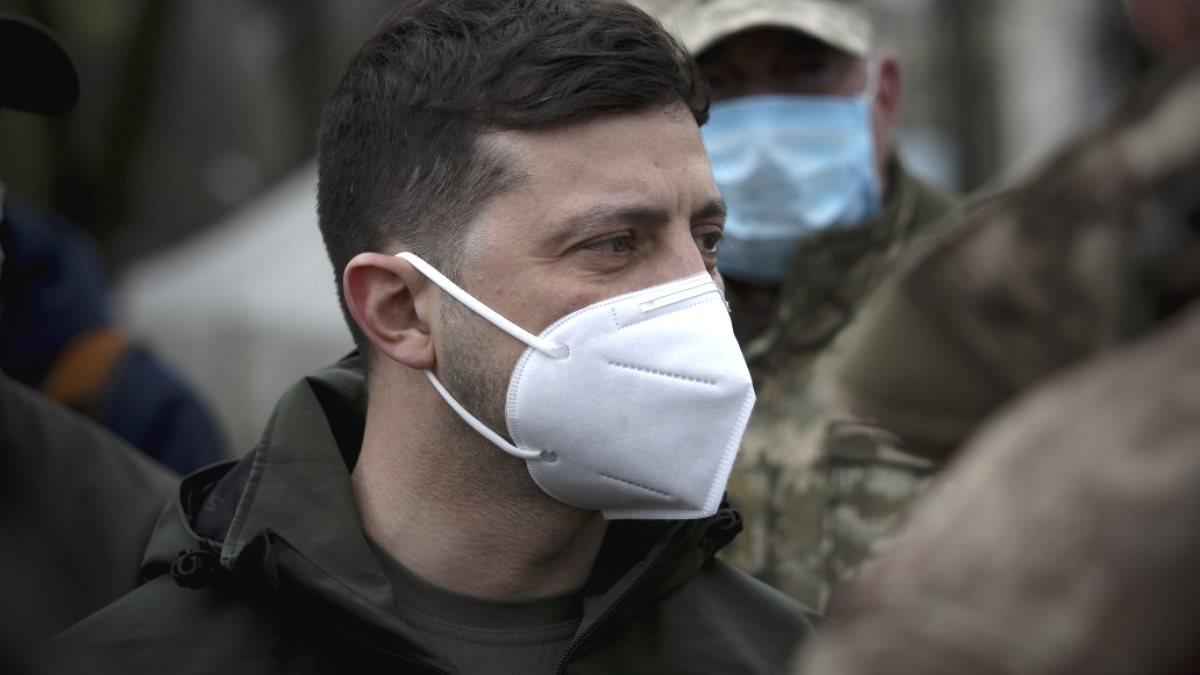 Владимир Зеленский коронавирус военные ДНР ЛНР