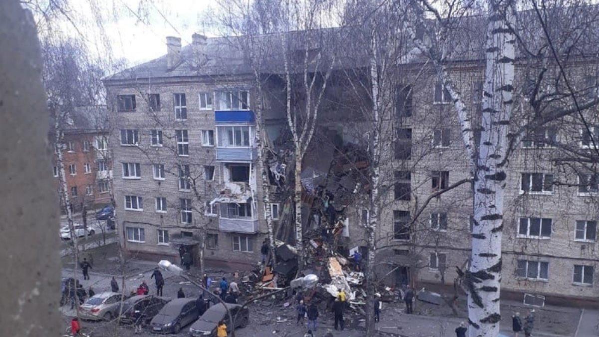 Взрыв газа Орехово-Зуево