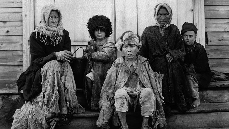 голодающие 1922 год Россия