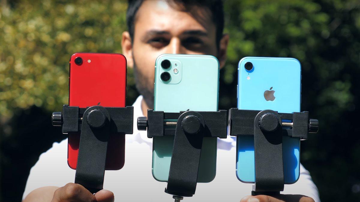 Сравнение камер iPhone SE iPhone 11 iPhone XR