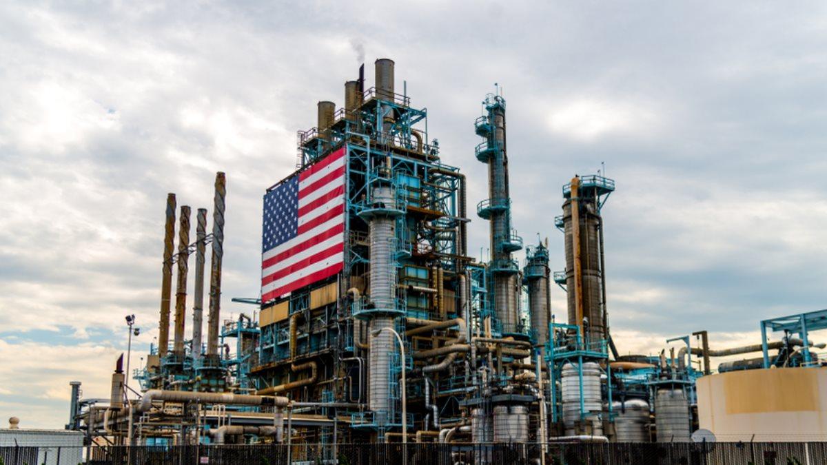 США нефть нефтеперерабатывающий завод НПЗ