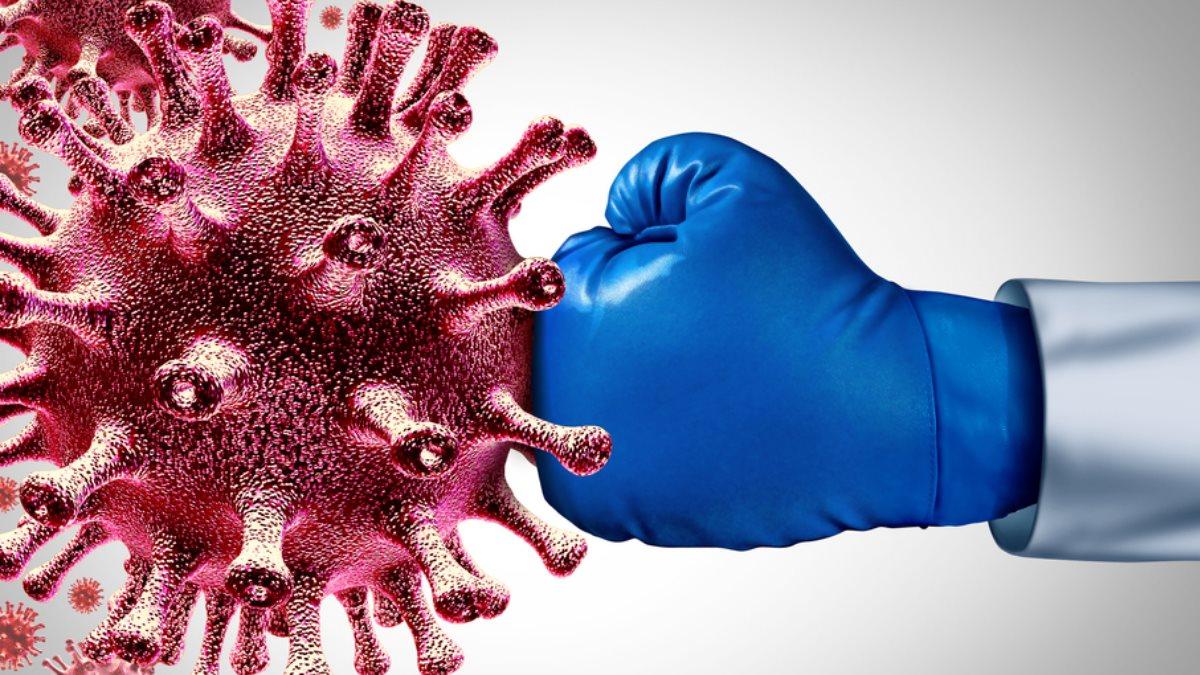 Иммунитет коронавирус перчатка