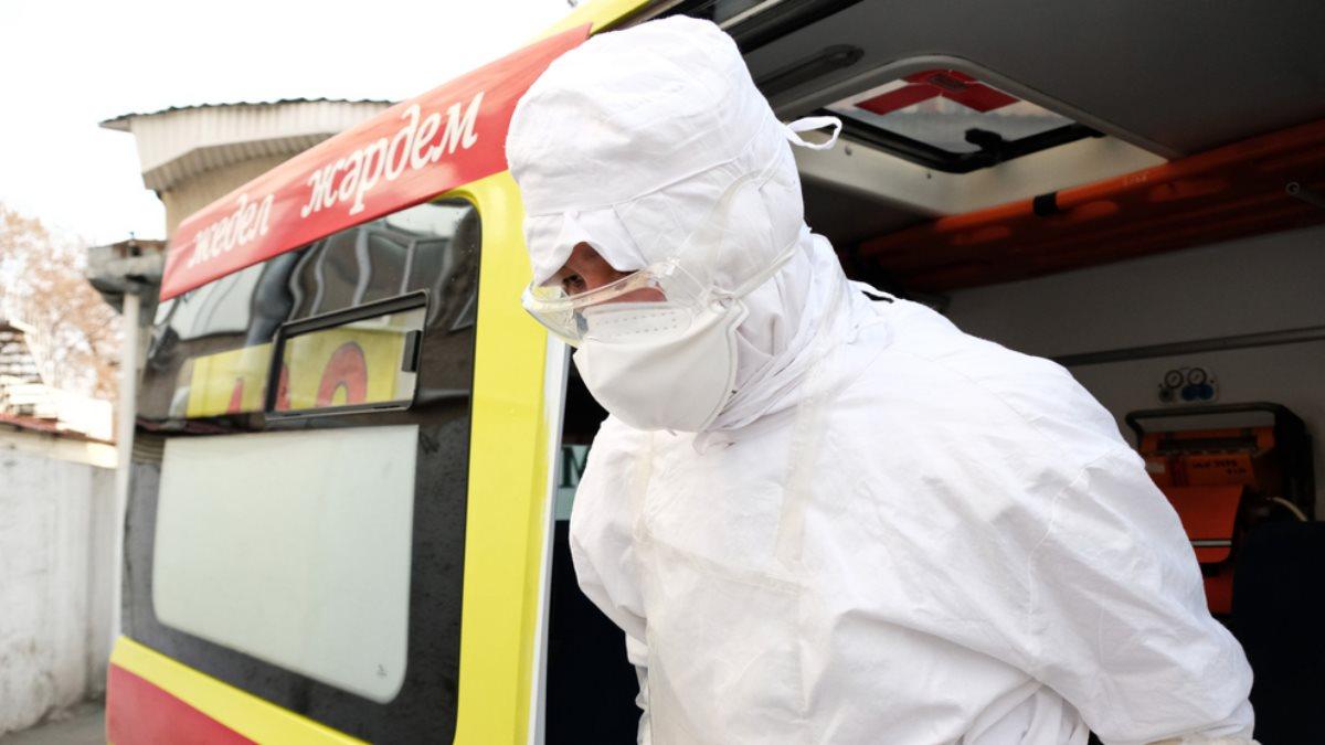 Казахстан коронавирус скорая помощь