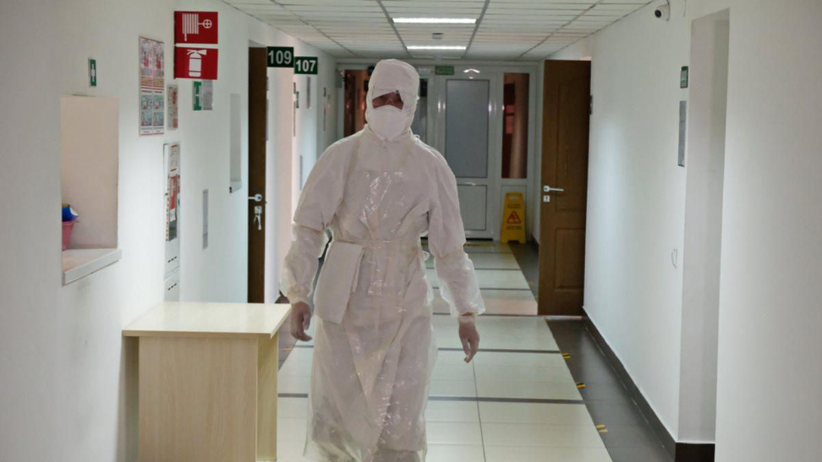 Казахстан коронавирус доктор врач