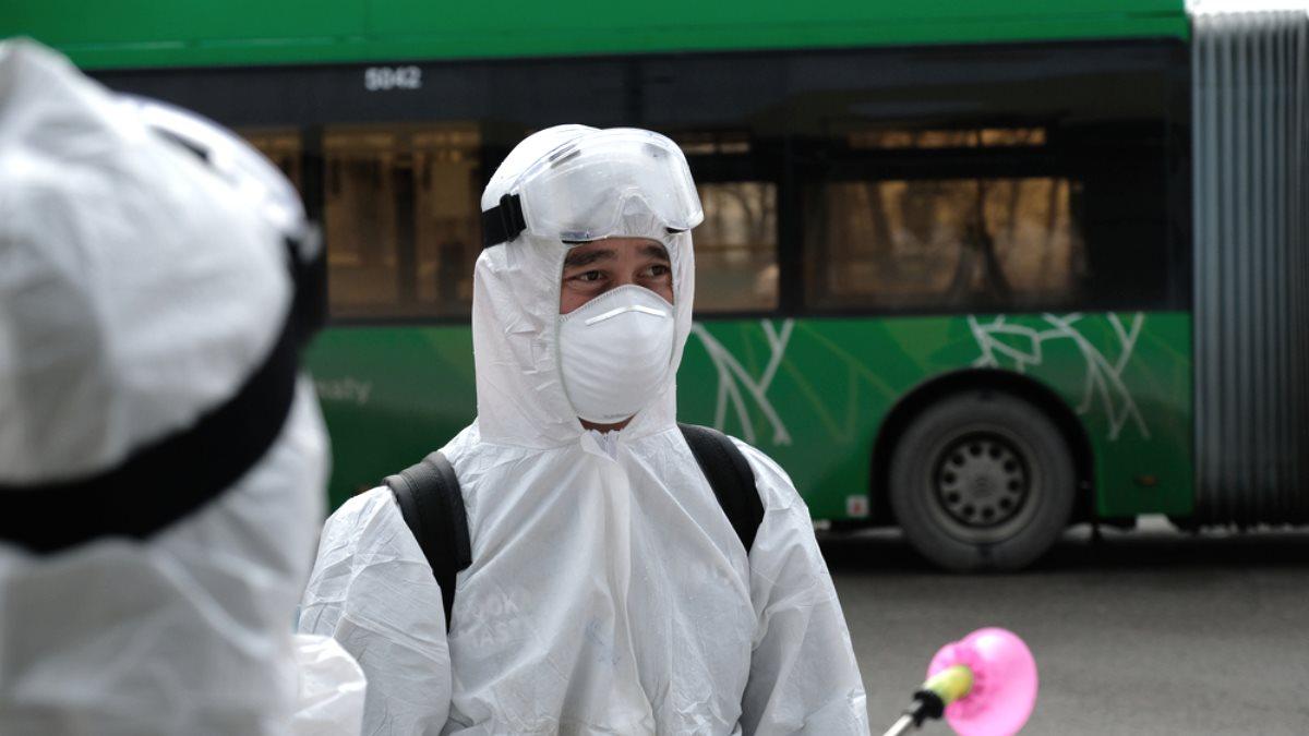 Казахстан коронавирус обработка