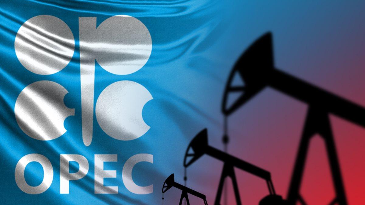 OPEC ОПЕК логотип нефть добыча два