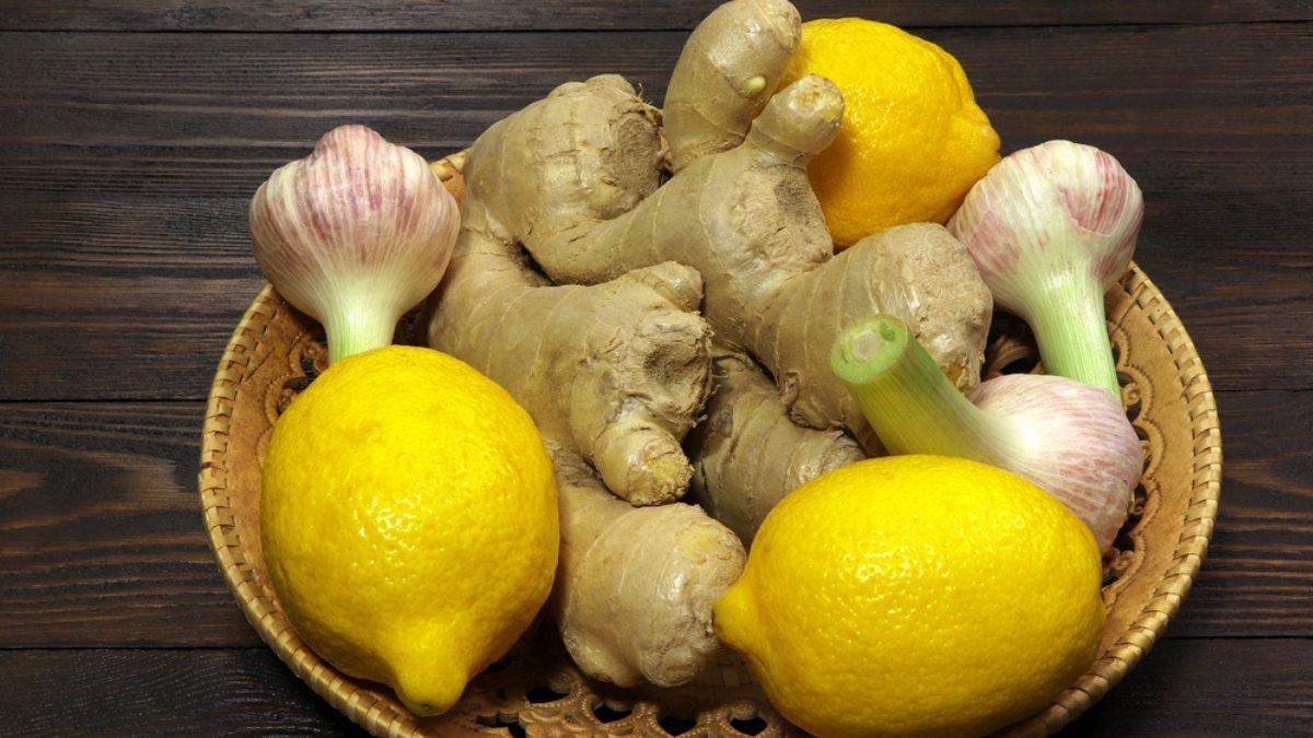 имбирь лимон чеснок