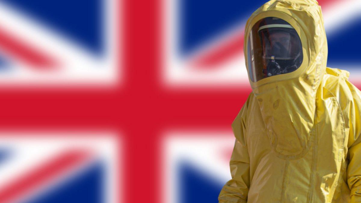 Великобритания коронавирус один