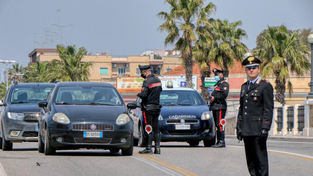 Италия коронавирус полиция