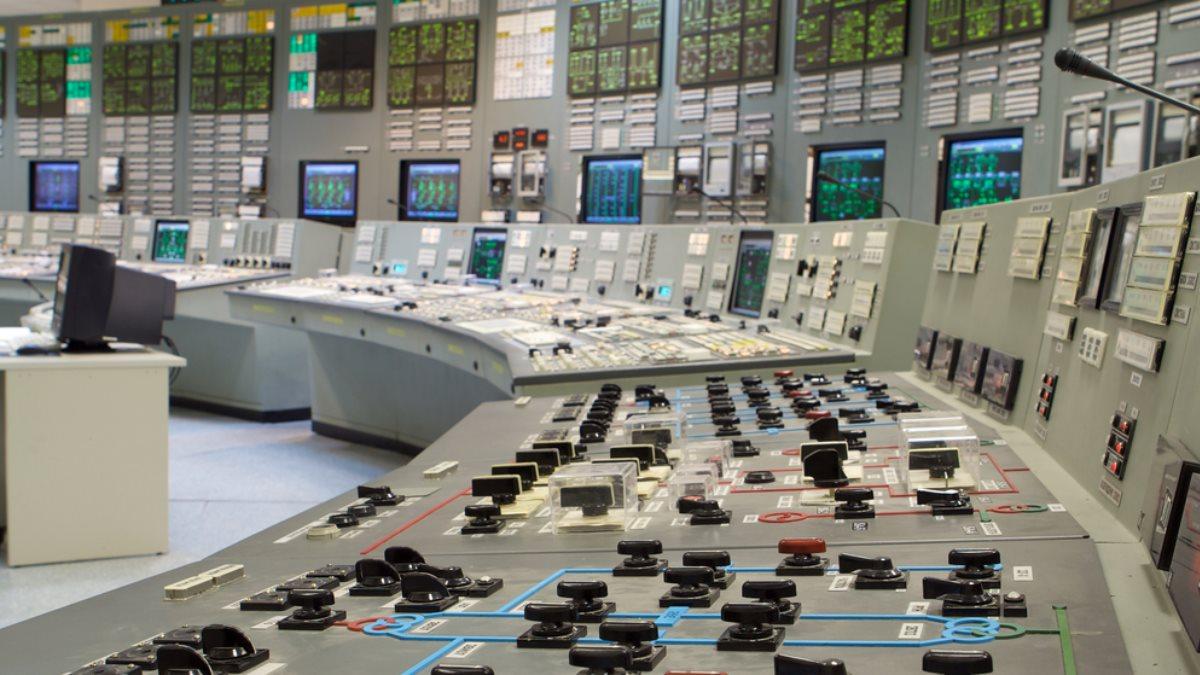 Россия атомная электростанция энергетика контрольная комната
