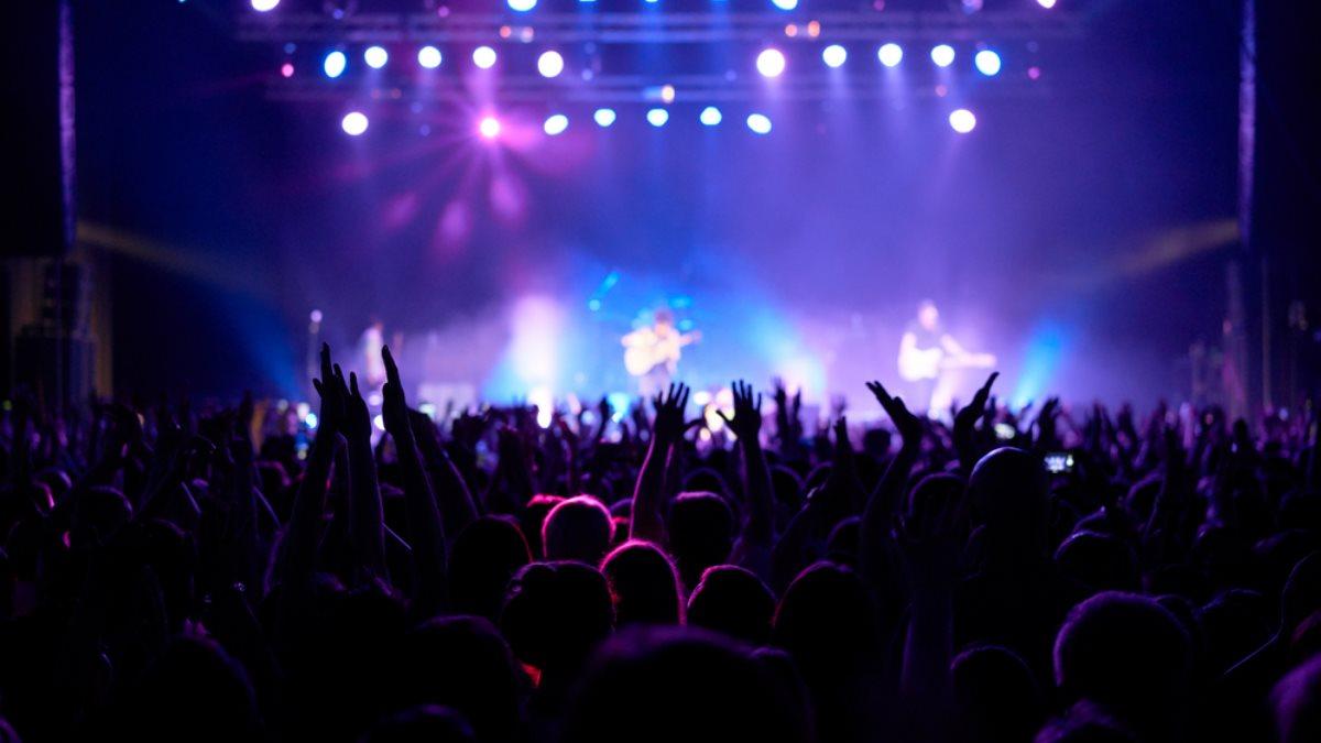 Сцена концерт