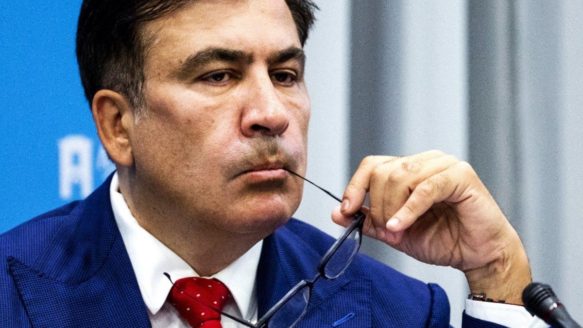 Михаил Саакашвили - Mikhail Saakashvili задумался один
