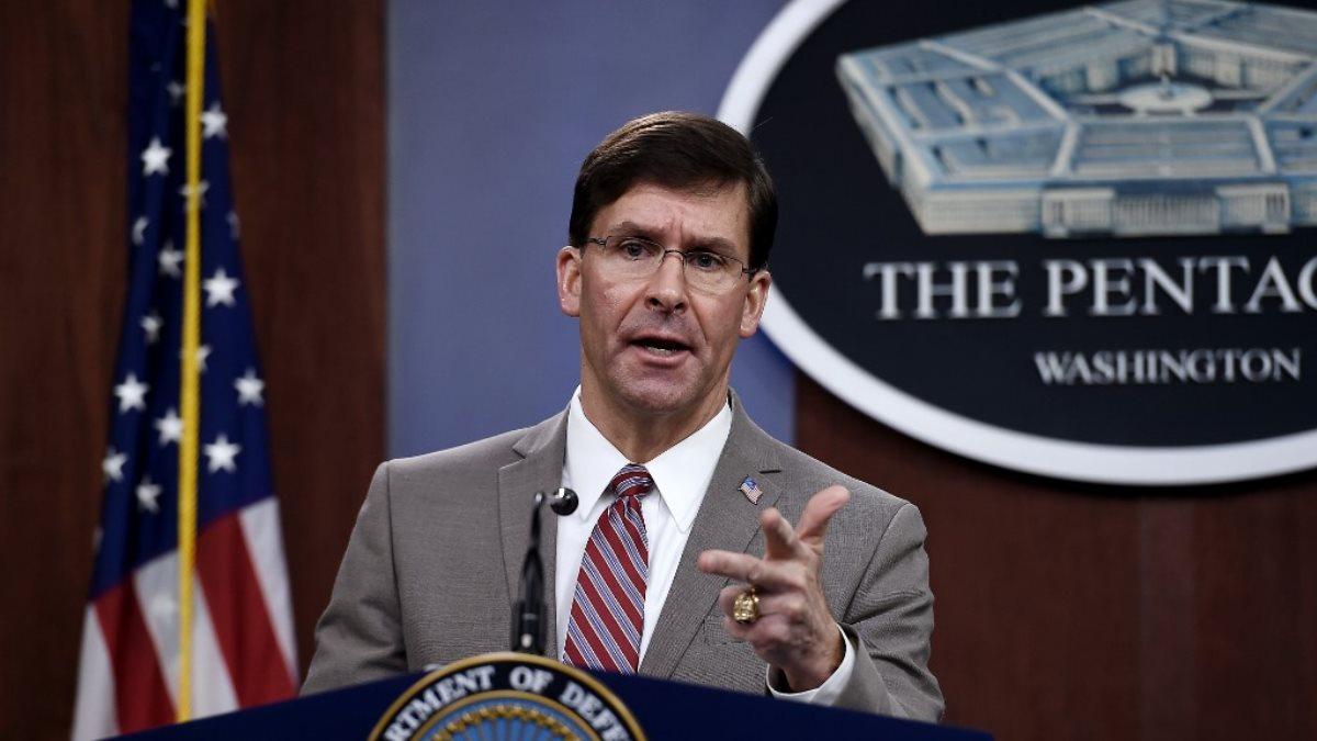 Министр обороны США Марк Эспер - Mark Esper два