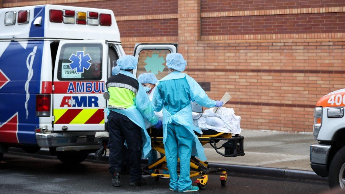 США коронавирус скорая помощь пациент один