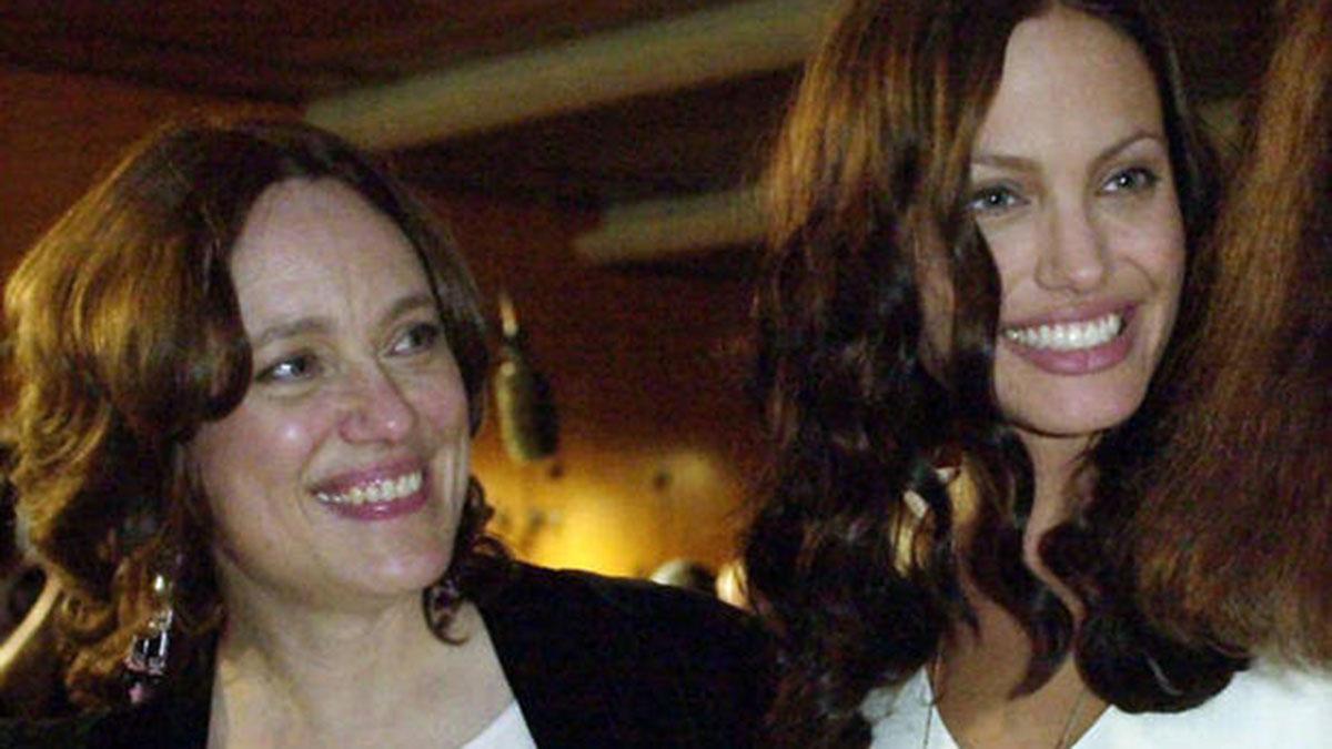 Анджелина Джоли и её мать Маршелин Бертран