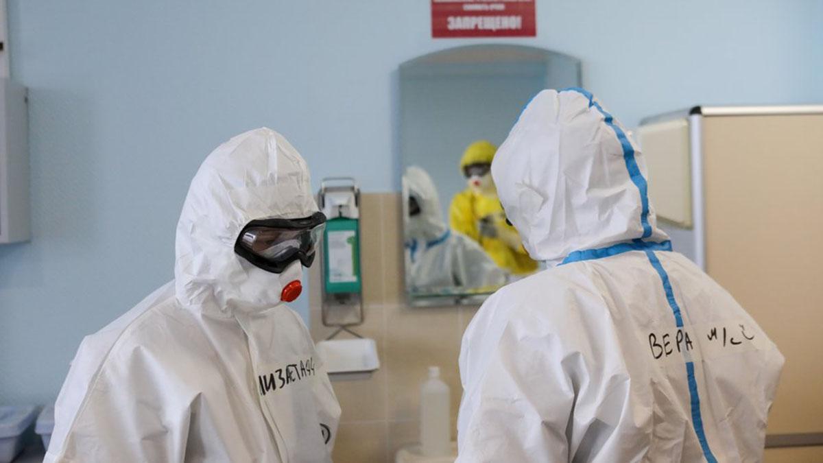 Коронавирус Пандемия Эпидемия Спецкостюм Больница Доктора
