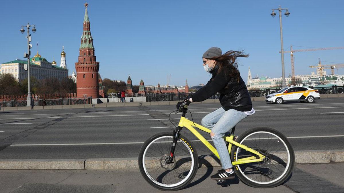 Велосипед Маска Коронавирус