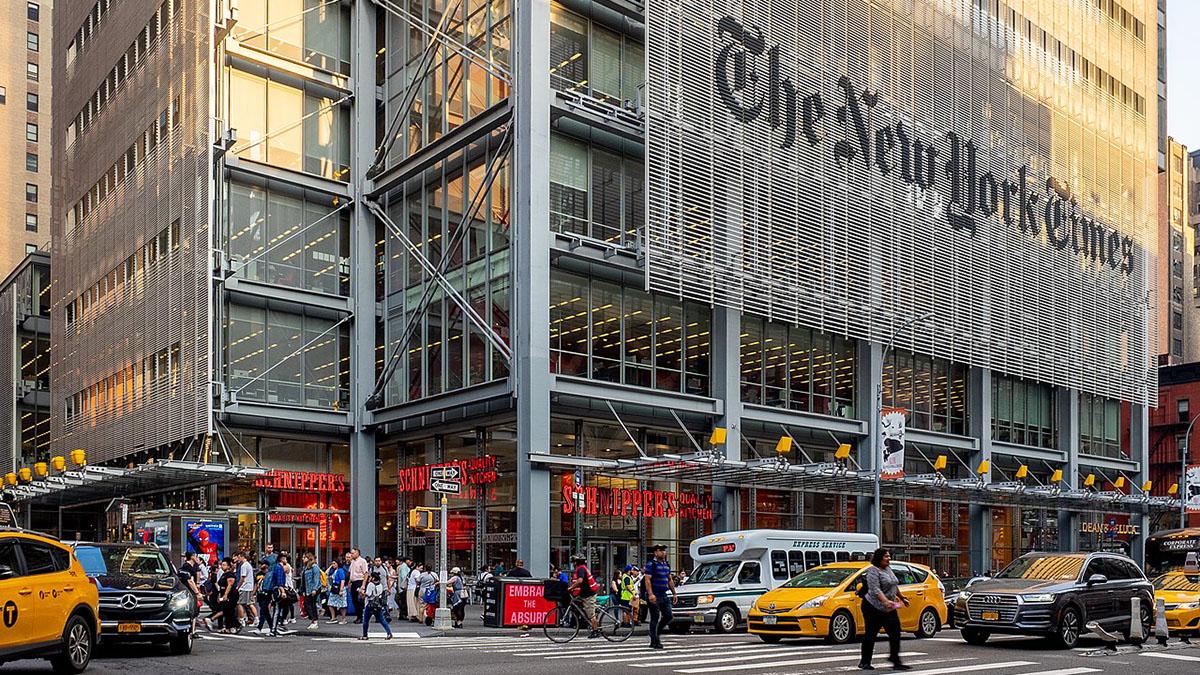 Midtown Manhattan, NYC The New York Times Нью-Йорк таймс