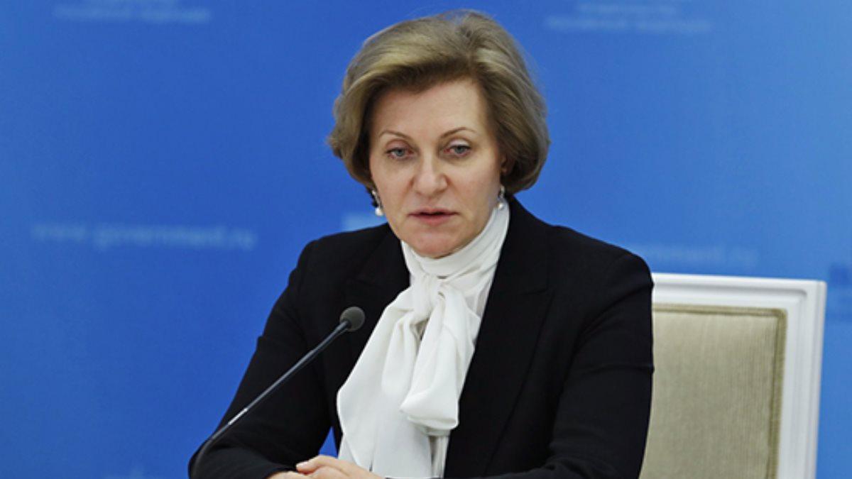 Глава Роспотребнадзора Анна Попова говорит