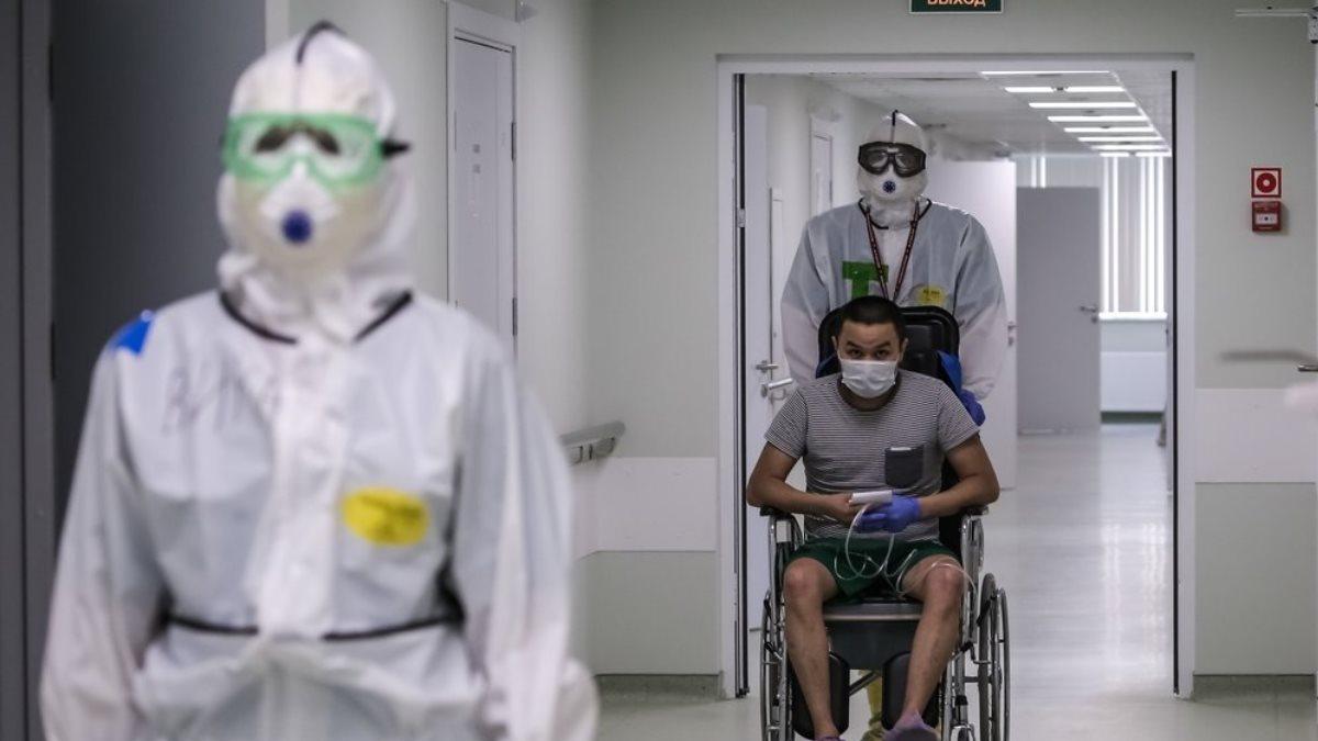 Больница коронавирус пациент